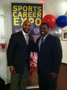 Doc Shak and Superbowl hero David Tyree